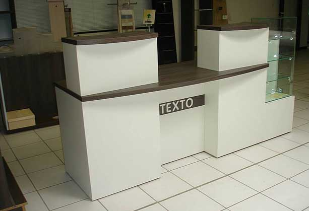 banques d accueil comptoir d 39 accueil de magasin et caisse lyon. Black Bedroom Furniture Sets. Home Design Ideas